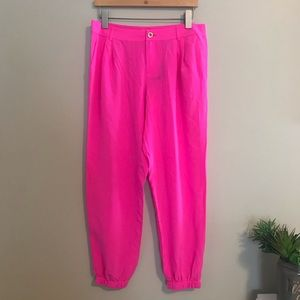 LILLY PULITZER | Silk Jogger | 8 | NWT